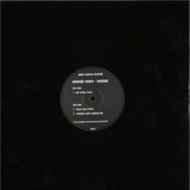 Orlando Voorn - Twisted - OS008 | Open Source records