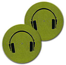 Slipmats (pair) Technics Smiley