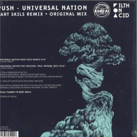 Push - Universal Nation - BV2019011 | Bonzai Vinyl