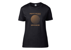 "InDeep'n'Dance Records ""Circle"" t-shirt woman semi-fit"