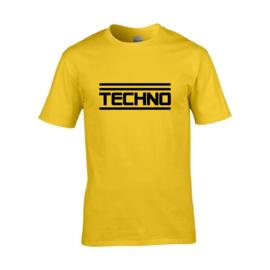 Techno t-shirt men