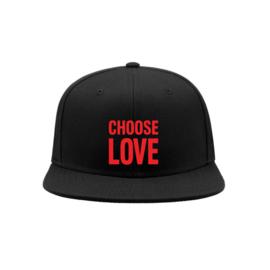 Choose love snapback cap