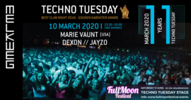 Techno Tuesday Amsterdam,  Marie Vaunt (USA), 10 March 2020