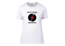 "InDeep'n'Dance Records ""Vinyl"" t-shirt woman semi-fit"