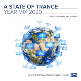 "Armin van Buuren - Various Artists  - A State Of Trance Year Mix 2020 LP (2x 12"")"