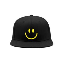 Smiley minimal snapback cap