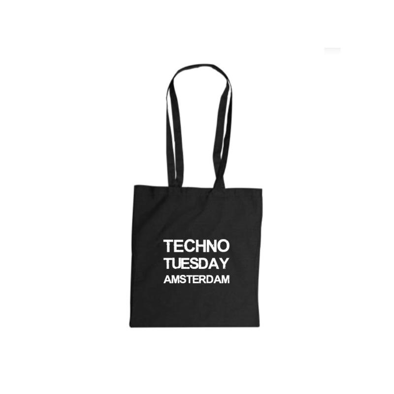 Techno Tuesday Amsterdam tote bag