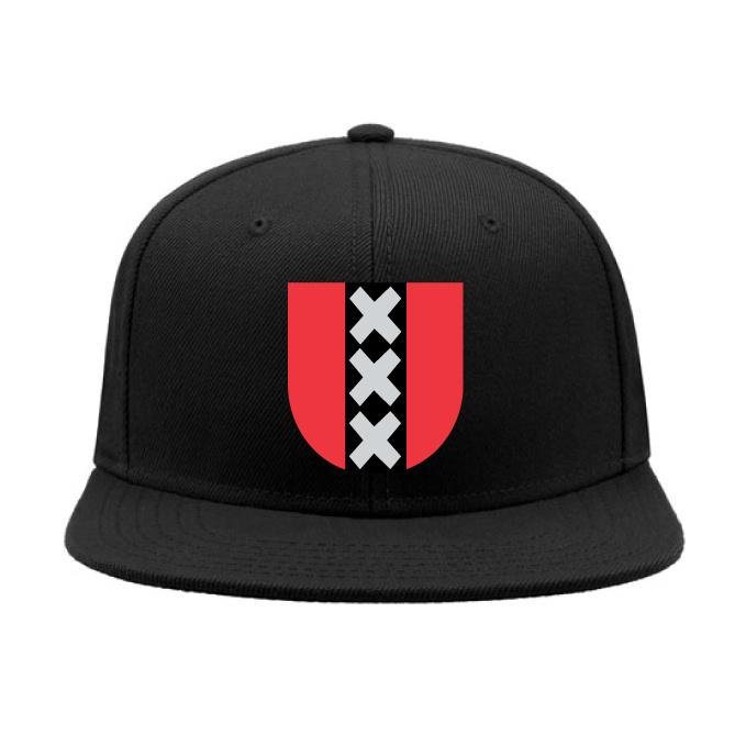 Amsterdam symbol cap snapback