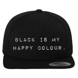 Snapback 'Black Is My Happy Colour'