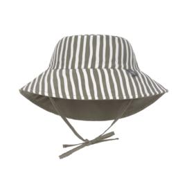 Zonnehoedje Stripes Grey