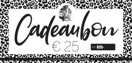Cadeaubon €25