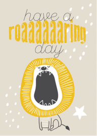 Have A Roaring Day Leeuw