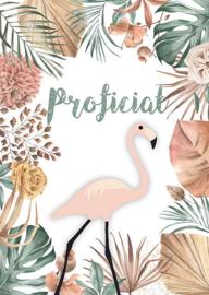 Proficiat Bohemian Flamingo