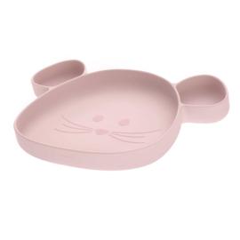 Eetbordje Little Chums Mouse Roze