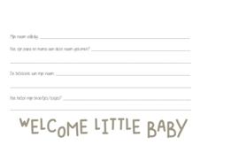 Babyboek oudgroen