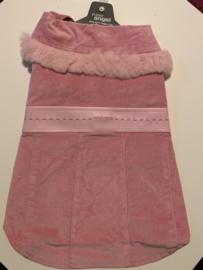 roze winter hondenjas Louisdog