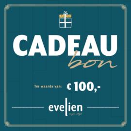 Cadeaubon t.w.v. 100,-