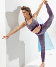 Women's TriDri® seamless '3D fit' multi-sport sculpt leggings