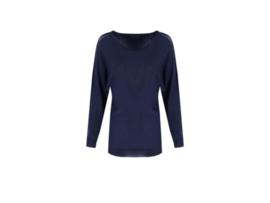 Shirt donkerblauw