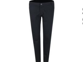 Zwarte pantalon met splitje