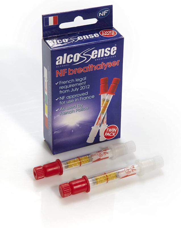 AlcoSense Alcoholtester NF 2st (Frankrijk)