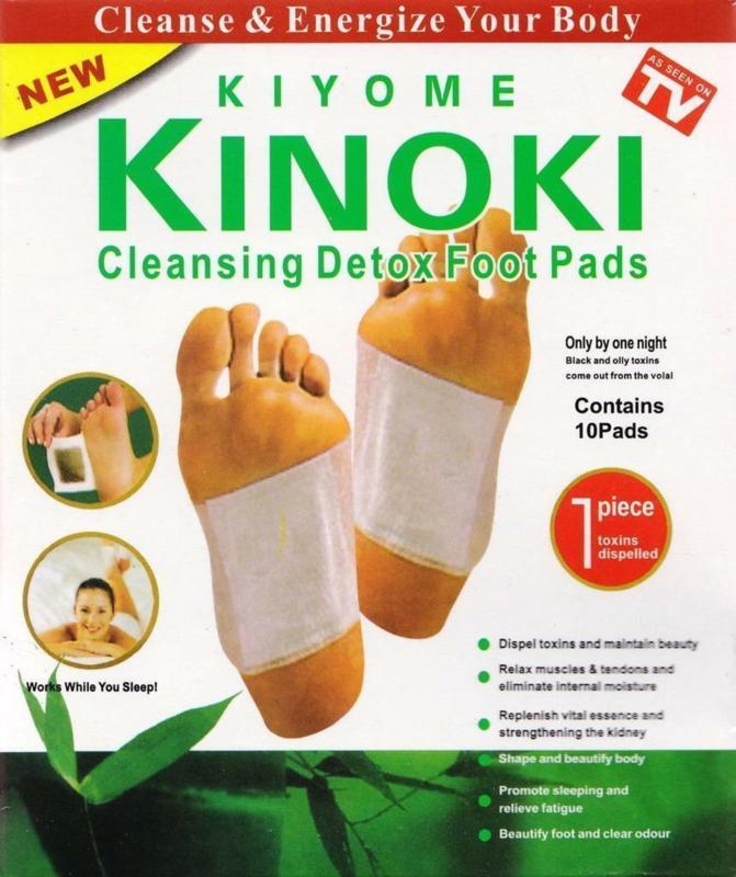 Kinoki Detox Foot Pads 10 stuks