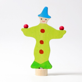 Grimm's steker jonglerende clown