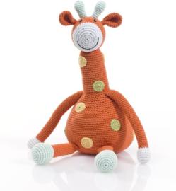 Pebble gehaakte giraf