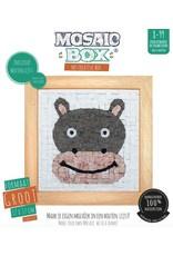 Neptune Mosaic Mosaicbox houten lijst nijlpaard