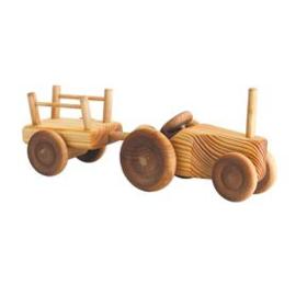 Debresk tractor met wagen klein