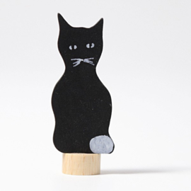 Grimm's steker zwarte kat
