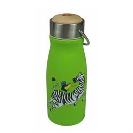 The Zoo Drinkfles Zebra