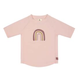 Lässig UV t-shirt Rainbow rose