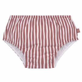 Lässig zwemluier Stripes red