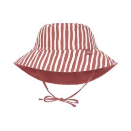 Lässig UV zonnehoedje Stripes red
