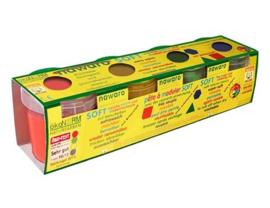 Okonorm Boetseerklei 4 Kleuren Set A