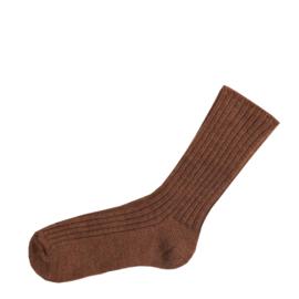 Joha wollen sokken koper melange