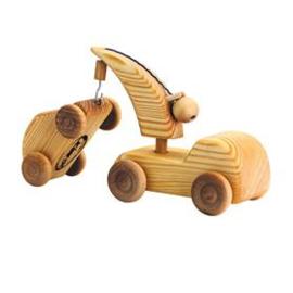 Debresk kraanwagen met auto klein