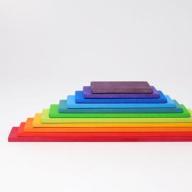 Grimm's bouwplaten regenboog