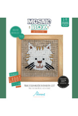 Neptune Mosaic Mosaicbox houten lijst kat