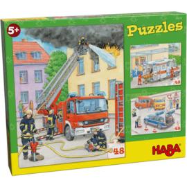 Haba Puzzels Hulpvoertuigen