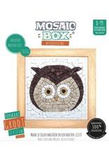 Neptune Mosaic Mosaicbox houten lijst uil
