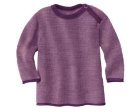 Disana merino wollen trui paars-roze