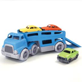 Greentoys auto transportwagen