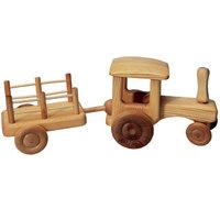 Debresk tractor met wagen groot