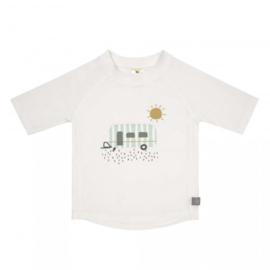 Lässig UV t-shirt Caravan white
