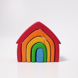 Grimm's huisjes regenboog