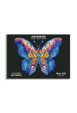 Aniwood houten puzzel vlinder small