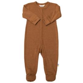Joha wol/zijde jumpsuit koper