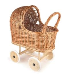 Egmont Toys Poppenwagen riet